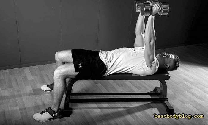 Лучшее упражнение для мышц груди