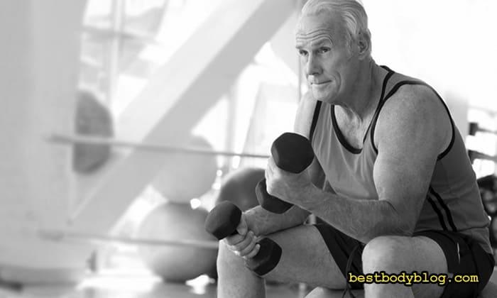 Тренировка после 40