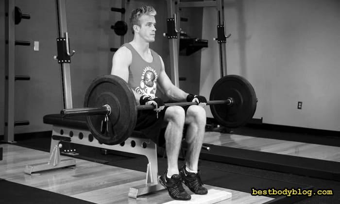 Упражнение для камбаловидной мышцы