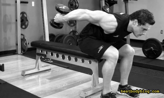 Изолированное упражнение на трицепс