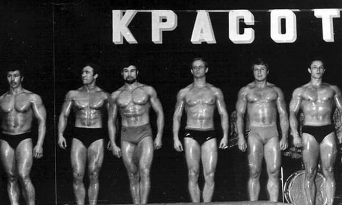 Соревнования по бодибилиднгу в СССР