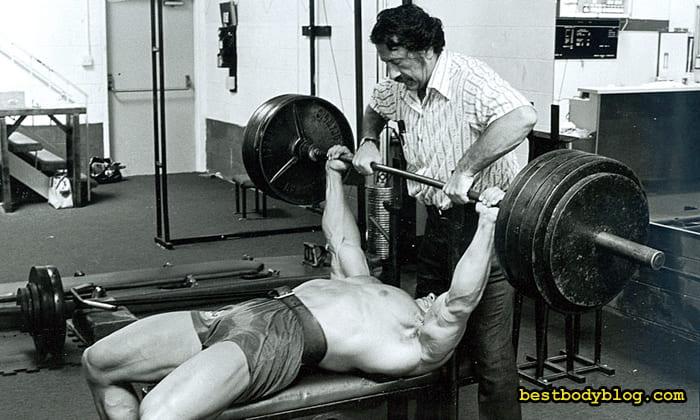 Арнольд тренировка