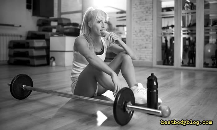 Питание для роста мышц у девушки