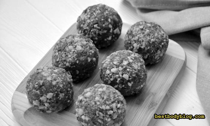 Белково-углеводные шарики